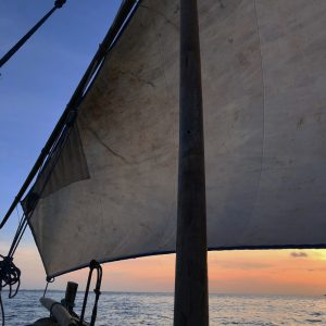 A sunset sail